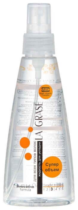 La Grase Спрей для укладки волос Супер объем, сильная фиксация