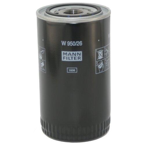 Масляный фильтр MANNFILTER W950/26