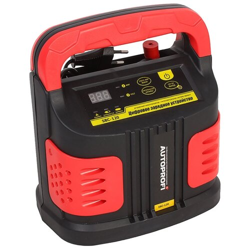 Зарядное устройство AUTOPROFI SBC-120 серый/красный