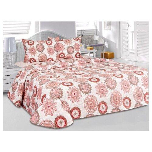 Постельное белье 2-спальное ТЕТ-А-ТЕТ Аврора, сатин, 50 х 70 см розовый кпб 2 0 сп сатин романтик тет а тет classic