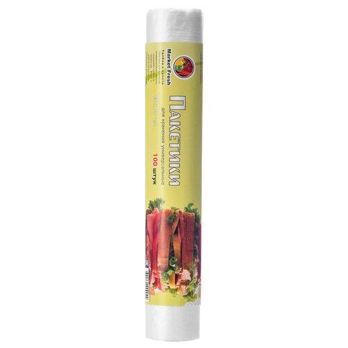 Пакеты для хранения продуктов Market Fresh 3045051, 40 см х 27 см, 100 шт