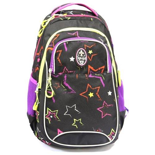 ufo people рюкзак школьный цвет черный 7227 Ufo People Рюкзак 7636, черный/фиолетовый