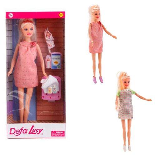 Кукла Defa Lucy Мама с малышом, 29 см, 8357 тожа оливия реготтаз доктор мама дебютант основные правила ухода за малышом