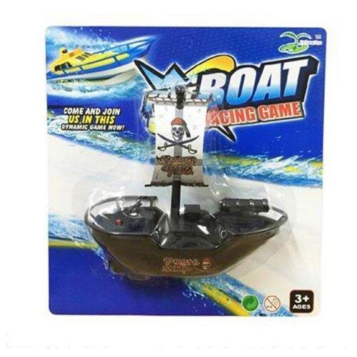 Корабль Ya Huang Toys 406425 16 см черный, Машинки и техника  - купить со скидкой