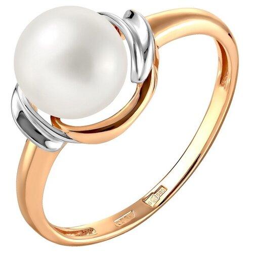 Фото - ПримаЭксклюзив Кольцо с 1 жемчугом из красного золота 190-1-1080Р, размер 17 примаэксклюзив кольцо с 1 жемчугом из красного золота 190 1 921р размер 17