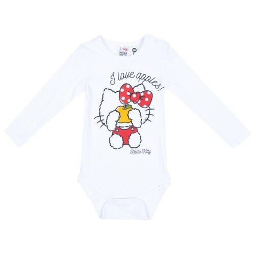 Боди playToday размер 74, белый/красный платье oodji ultra цвет красный белый 14001071 13 46148 4512s размер xs 42 170