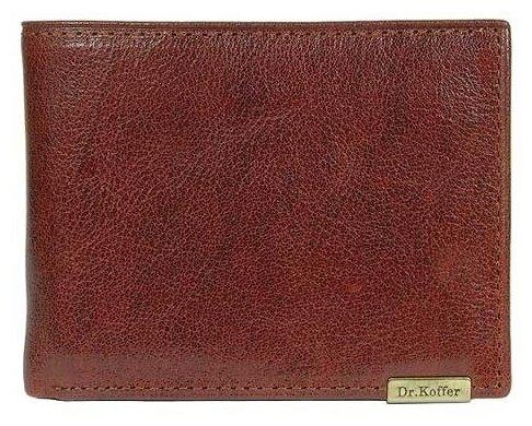 Купить Портмоне Dr.Koffer X262681-02, натуральная кожа светло-коричневый по низкой цене с доставкой из Яндекс.Маркета