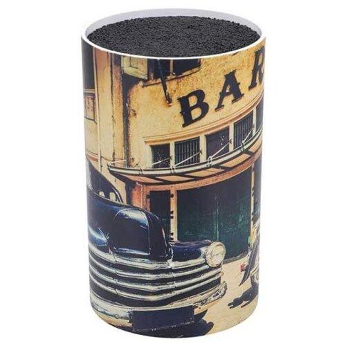 Bergner Подставка универсальная RB-2575 черный/бежевый кофеварка bergner bg 0671 eu