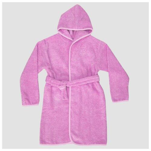 Фото - Халат Baby Nice размер 122-128, розовый 2 аксессуары для колясок baby nice конверт baby nice с меховой подкладкой розовый
