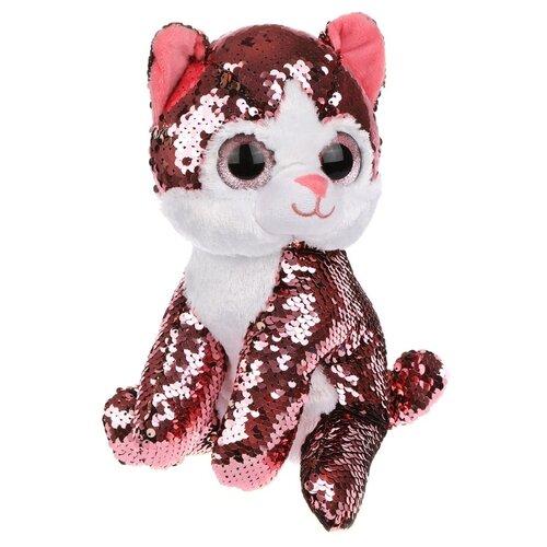 цена на Мягкая игрушка Fluffy Family Котенок Блестяшка 23 см