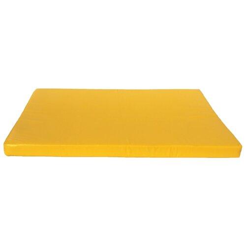 Спортивный мат 1500х1000х100 мм КМС № 9 желтый
