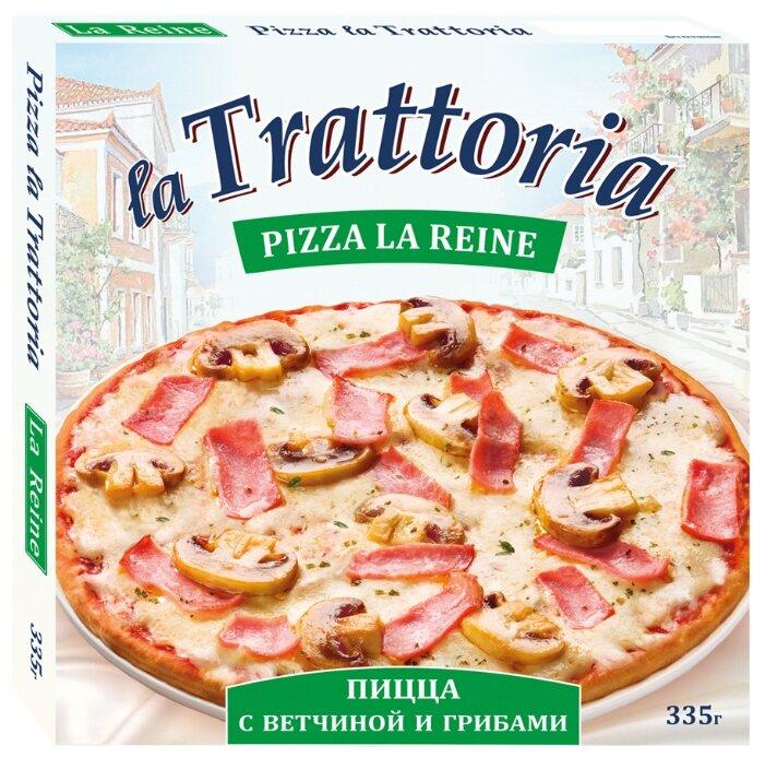 La Trattoria Замороженная пицца Ветчина и грибы 335 г