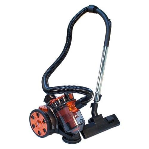 Пылесос Kelli KL-8005, оранжевый/черный пылесос kelli kl 8014 красный