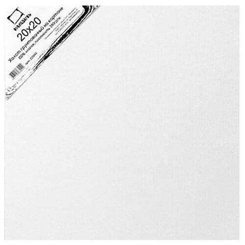 Холст Малевичъ на картоне 20x20 см (222020) малевичъ пенал скрутка для кистей на короткой и средней ручке оливковый