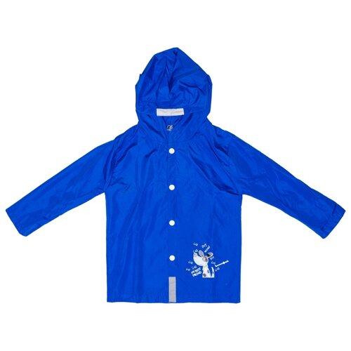 Купить Дождевик КОТОФЕЙ размер 92-98, синий, Пальто и плащи