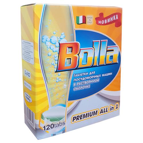 BOLLA Premium All in one таблетки в растворимой оболочке для посудомоечной машины, 120 шт. алфавит классик витамины таблетки 120 шт