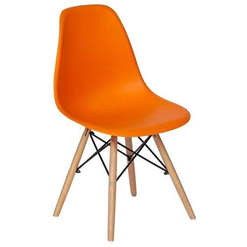 Комплект стульев Secret de Maison Tolix-Eames Cindy (001), дерево, 6 шт., цвет: оранжевый