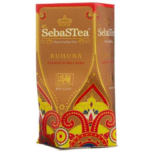 Чай черный SebaSTea Ruhuna, 100 г чай листовой зеленый sebastea chinesse dragon 100 г