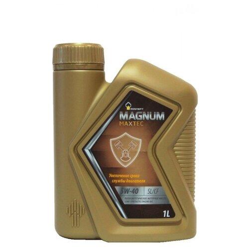 Фото - Моторное масло Роснефть Magnum Maxtec 5W-40 1 л rosneft масло моторное rosneft magnum maxtec 5w40 5л