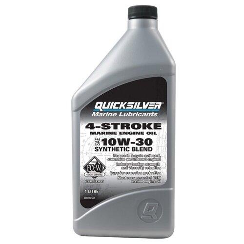 Минеральное моторное масло Quicksilver 4-Stroke Marine 10W-30 1 л недорого