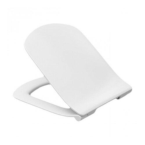 Фото - Крышка-сиденье для унитаза Roca Dama Senso ZRU9302991 дюропласт с микролифтом белый крышка сиденье для унитаза roca dama senso zru9302820 дюропласт с микролифтом белый