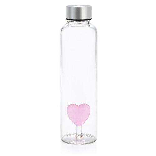 Бутылка для воды balvi Love 0.5 стекло прозрачный