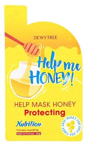 Dewytree Тканевая маска питательная с медом Help Me