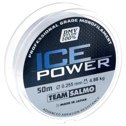 Монофильная леска Salmo Ice Power прозрачный 0.255 мм 50 м 4.88 кг