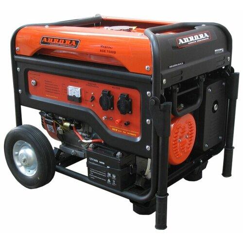 Бензиновый генератор Aurora AGE 7500 D (6000 Вт) matrix socolor beauty dream age d age 505m цвет d age 5m светлый шатен мокка variant hex name 8a584f