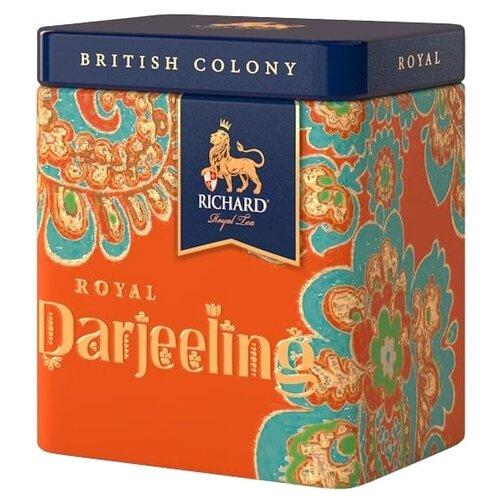 Чай черный Richard British colony Royal darjeeling подарочный набор, 50 г недорого