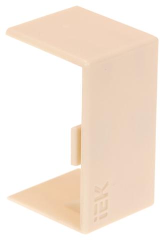 Соединение/накладка на стык для настенного кабель-канала IEK CKK20D-S-040-016-K01