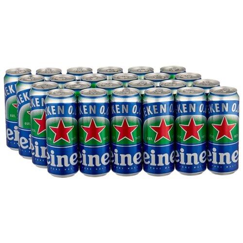 Пиво светлое безалкогольное Heineken 0.45 л х 24 шт