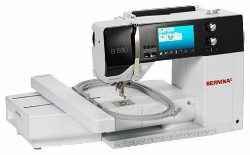 Швейная машина Bernina B 580 с вышивальным модулем