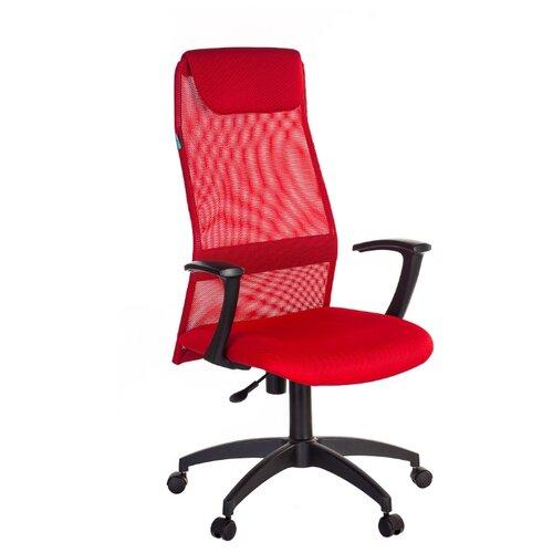 Компьютерное кресло Бюрократ KB-8N для руководителя, обивка: текстиль, цвет: красный