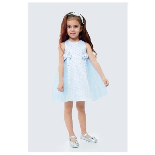 Купить Платье Ladetto размер 28-110, голубой, Платья и сарафаны
