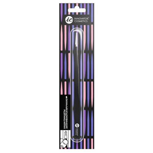 Купить Пинцет Innovator Cosmetics для ресниц 1-SA MLE3003 черный