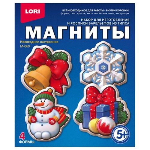 Купить LORI Магниты - Новогоднее настроение (М-069), Гипс