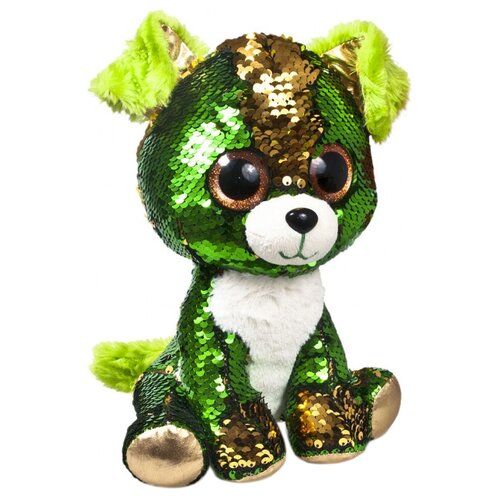 Купить Мягкая игрушка Fancy Глазастик Щенок Изумруд 15 см, Мягкие игрушки