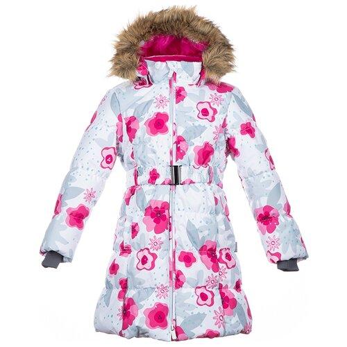 Пальто Huppa Yacaranda 12030030 размер 110, white pattern пальто huppa vivian размер 152 70002 yellow
