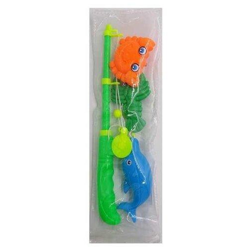 Купить Рыбалка Junfa toys Помогаю папе - Большой улов PT-01257 голубой/зеленый/желтый/оранжевый, Развитие мелкой моторики