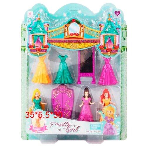 Набор кукол Zhorya Pretty Girl, ZY588341