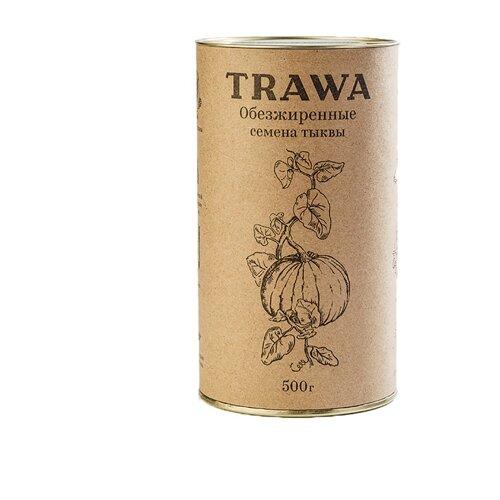Семечки тыквенные Trawa обезжиренные 500 г фото
