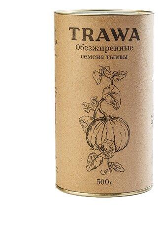 Семечки тыквенные Trawa обезжиренные 500 г