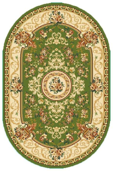 Люберецкие ковры Ковер Ноктюрн 41494-03 овал 1.5x2.3 м.
