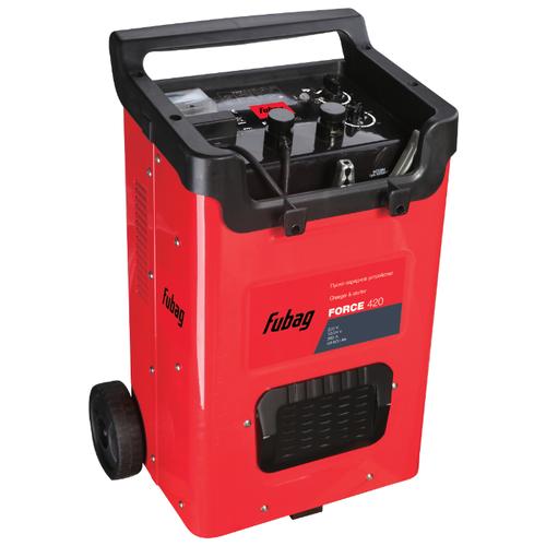 Пуско-зарядное устройство Fubag Force 420 красный/черный пуско зарядное устройство force 320