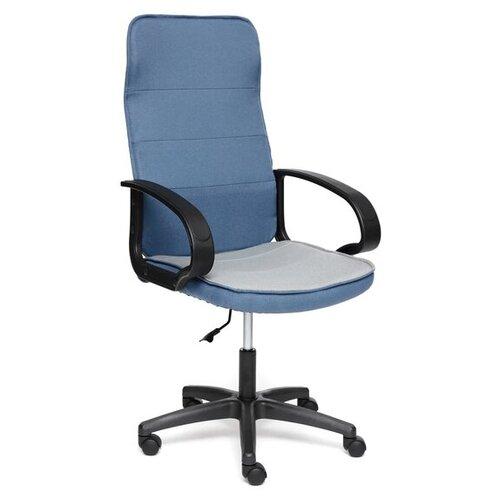 Компьютерное кресло TetChair Woker офисное, обивка: текстиль, цвет: синий/серый кресло офисное tetchair leader 207 серый