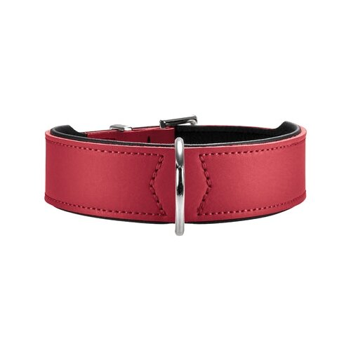 Ошейник HUNTER Basic 65 51-58 см red/black ошейник hunter swiss 65 51 58 см red black