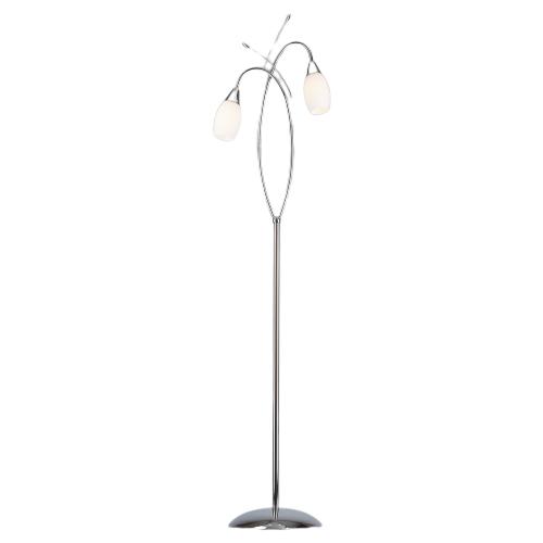 Напольный светильник Eurosvet Торшер Eurosvet Ginevra 22080/2F хром, E14, 80 Вт