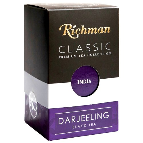 Чай черный Richman Darjeeling , 100 г фото