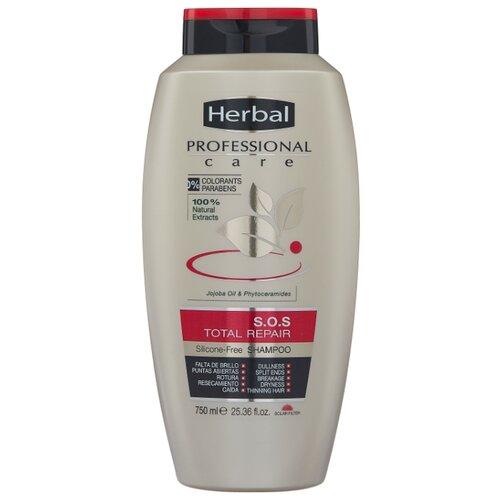 Herbal шампунь S.O.S Total Repair Тотальное Восстановление для всех типов волос 750 мл шампунь восстановление 400 мл likato шампунь восстановление 400 мл